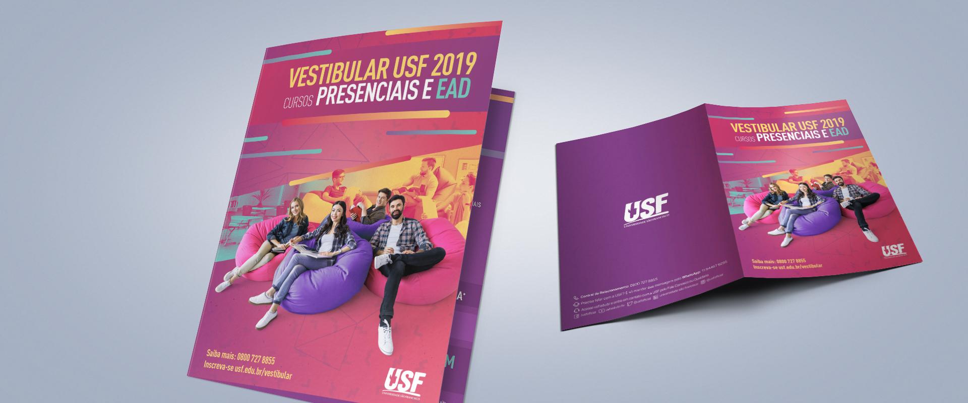 Impulsa cria campanha para o Vestibular da USF pela terceira vez