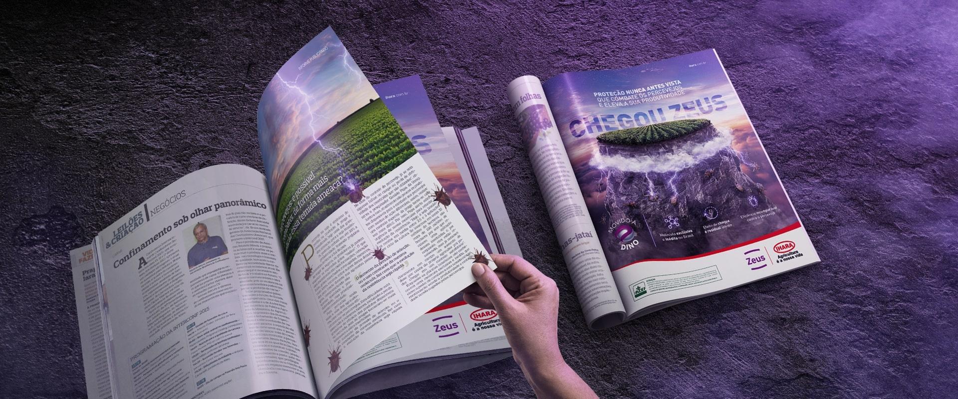 Impulsa supera expectativas com campanha do Zeus, lançamento inovador da IHARA