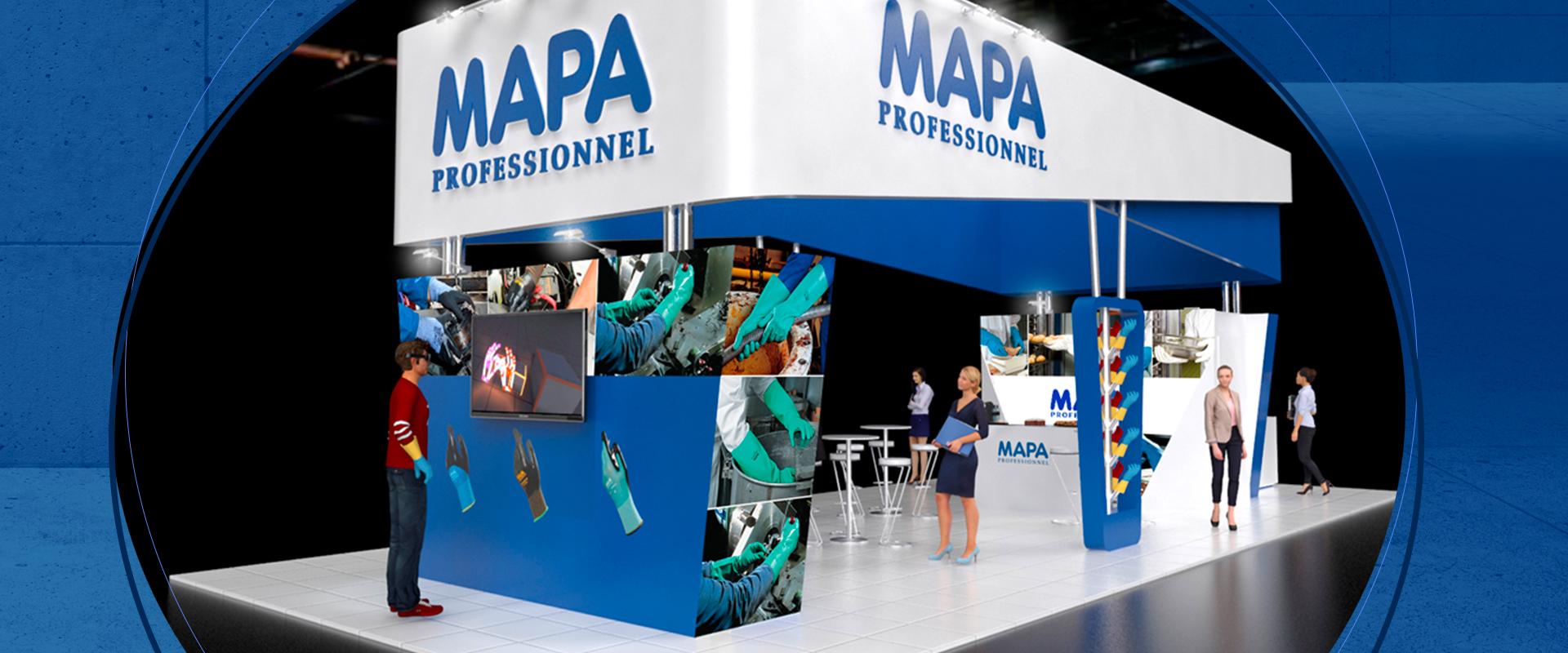 MAPA Professionnel na Intersec em Buenos Aires
