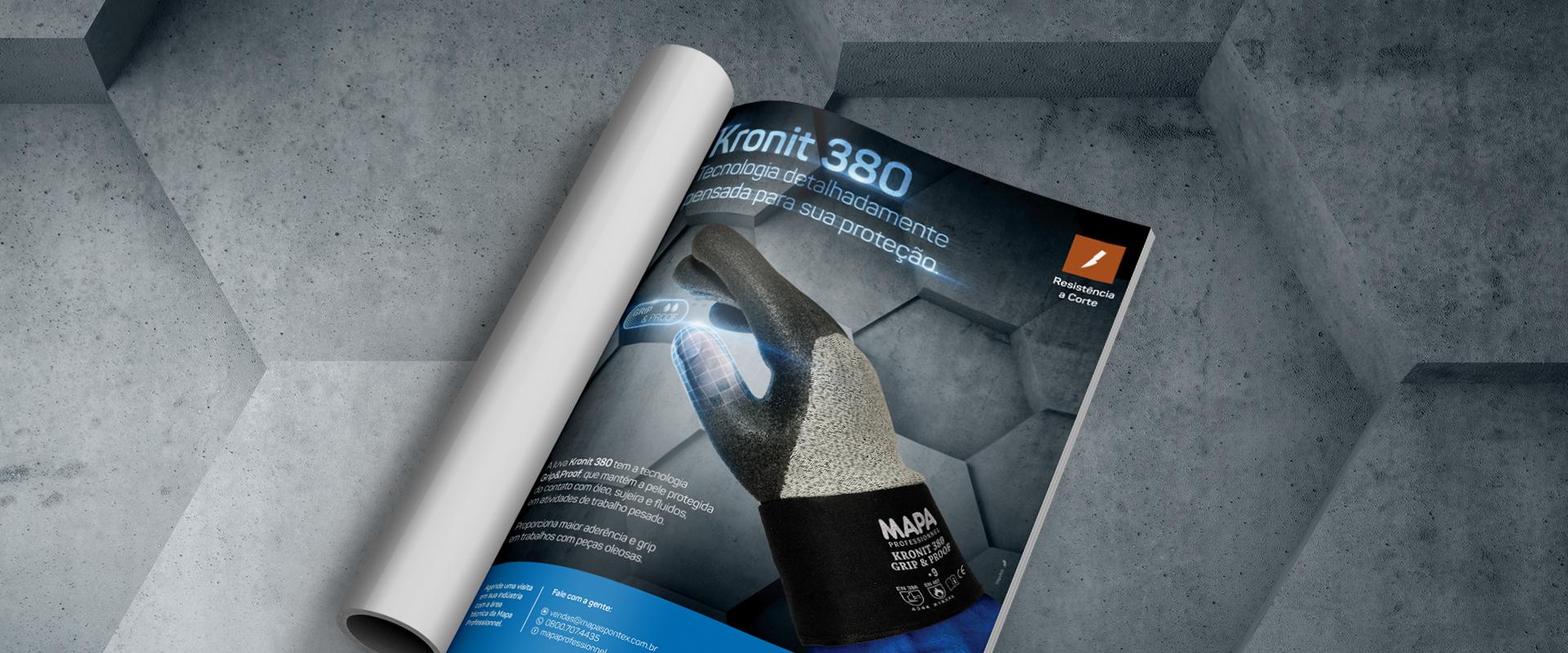 Lançamento Kronit Grip&Proof 380, da MAPA, conta com ação da Impulsa