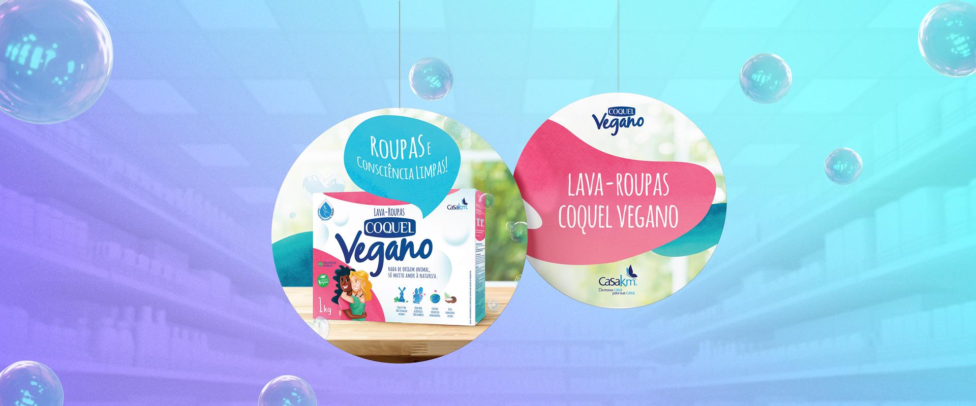 Consumo consciente é o foco da Impulsa para o lançamento de COQUEL Vegano, da Casa KM