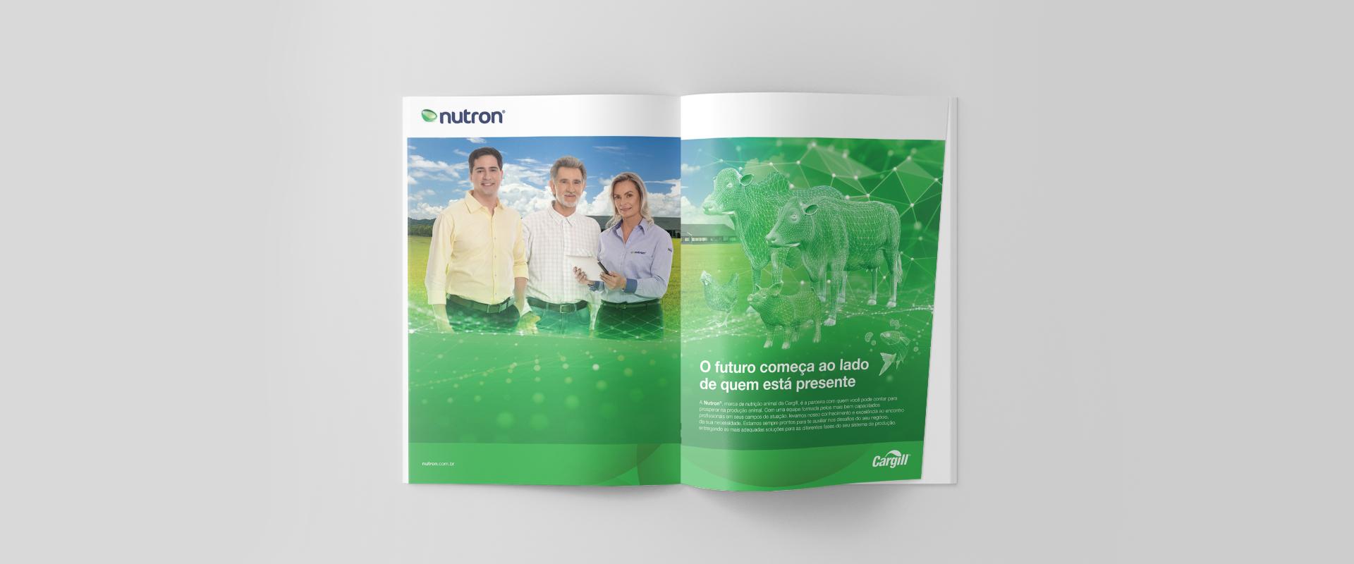 Campanha institucional da Nutron criada pela Impulsa reforça posicionamento da marca no mercado