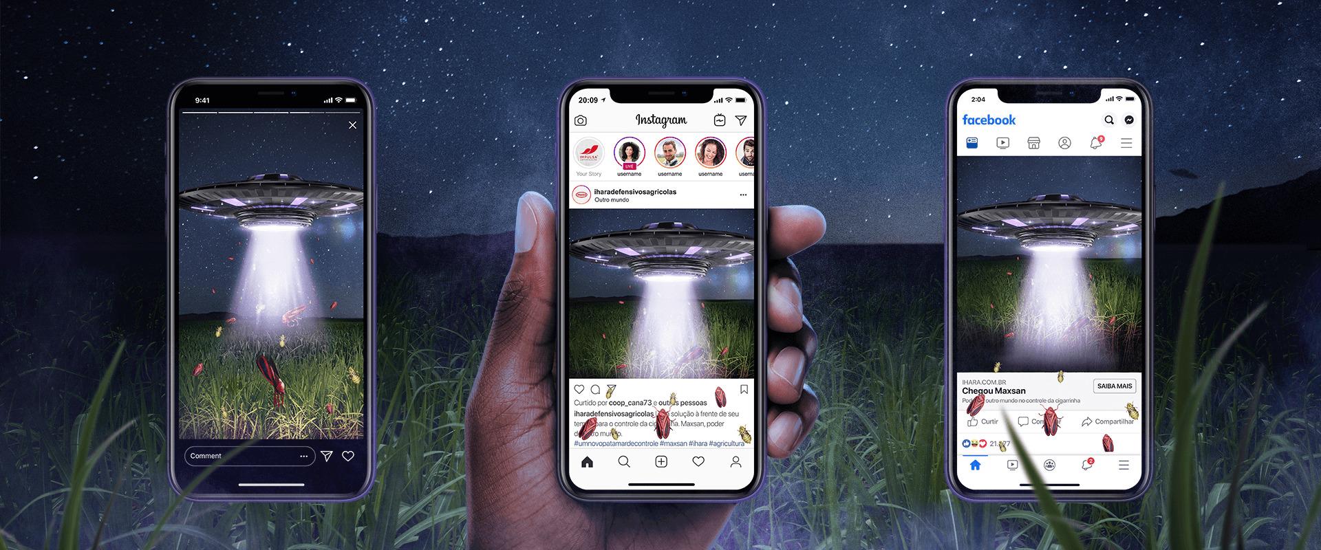 O lançamento de Maxsan e o app de realidade aumentada