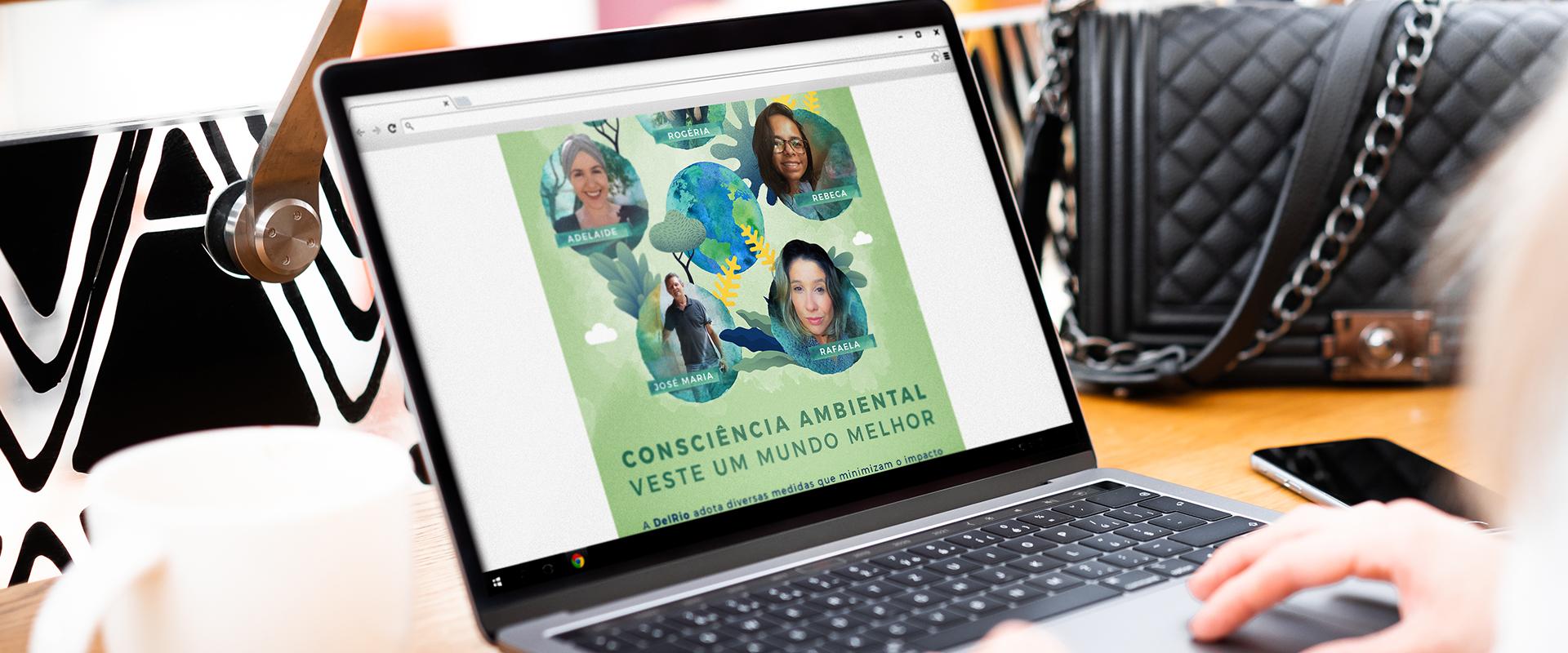 DelRio celebra a Semana do Meio Ambiente com ações digitais de endomarketing